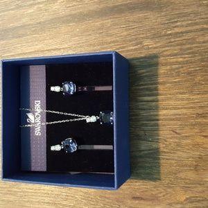 Swarovski pendent and earring set
